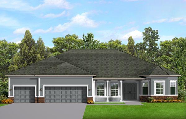 House Plan Design - Ranch Floor Plan - Main Floor Plan #1058-198