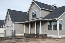 Dream House Plan - Craftsman Exterior - Front Elevation Plan #1070-35
