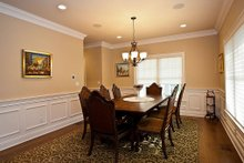 Architectural House Design - Dining Room  - 3500 square foot Country Home