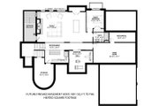 Traditional Style House Plan - 4 Beds 4.5 Baths 4553 Sq/Ft Plan #928-331 Floor Plan - Lower Floor Plan