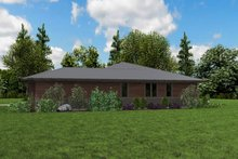 Dream House Plan - Contemporary Exterior - Other Elevation Plan #48-958