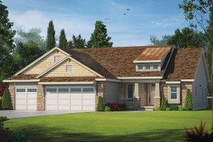 House Design - Craftsman Exterior - Front Elevation Plan #20-2179