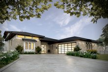 House Plan Design - Contemporary Exterior - Front Elevation Plan #935-14
