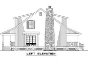Country Style House Plan - 3 Beds 2 Baths 1544 Sq/Ft Plan #17-2014 Exterior - Other Elevation