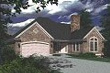 House Design - European Exterior - Other Elevation Plan #48-132