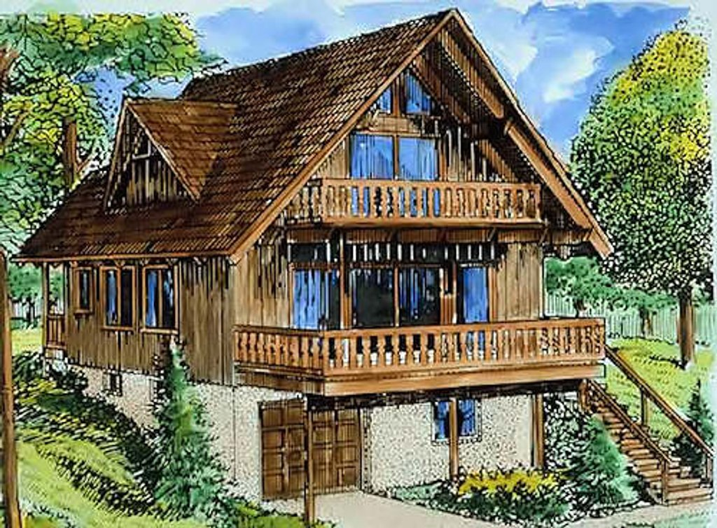 Cottage Style House Plan 3 Beds 2 Baths 1614 Sq Ft Plan