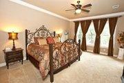 Craftsman Style House Plan - 4 Beds 3.5 Baths 3760 Sq/Ft Plan #80-205 Interior - Master Bedroom
