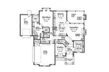 European Floor Plan - Main Floor Plan Plan #310-992