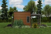 Contemporary Style House Plan - 1 Beds 1 Baths 312 Sq/Ft Plan #48-953