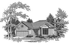 House Design - Traditional Exterior - Front Elevation Plan #70-133