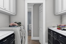 Cottage Interior - Laundry Plan #406-9656