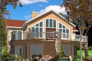 Contemporary Style House Plan - 3 Beds 2.5 Baths 2144 Sq/Ft Plan #138-224