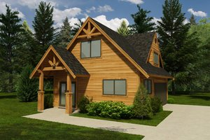 Traditional Exterior - Front Elevation Plan #118-119