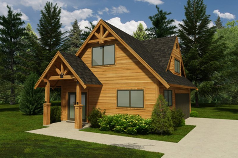Traditional Style House Plan - 0 Beds 0 Baths 1178 Sq/Ft Plan #118-119 Exterior - Front Elevation
