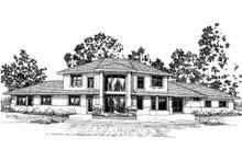 Exterior - Front Elevation Plan #124-322