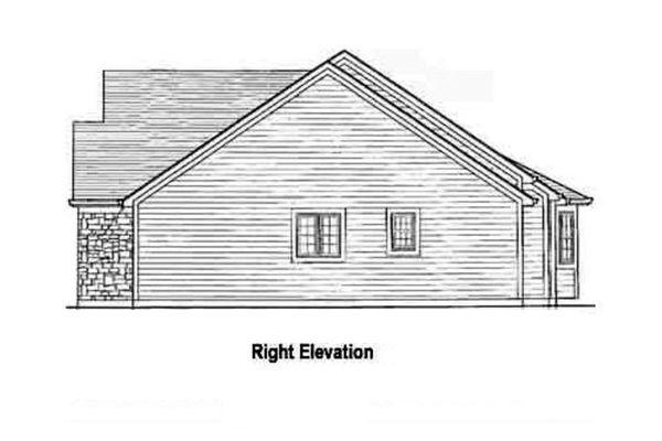 Country Floor Plan - Other Floor Plan Plan #46-106