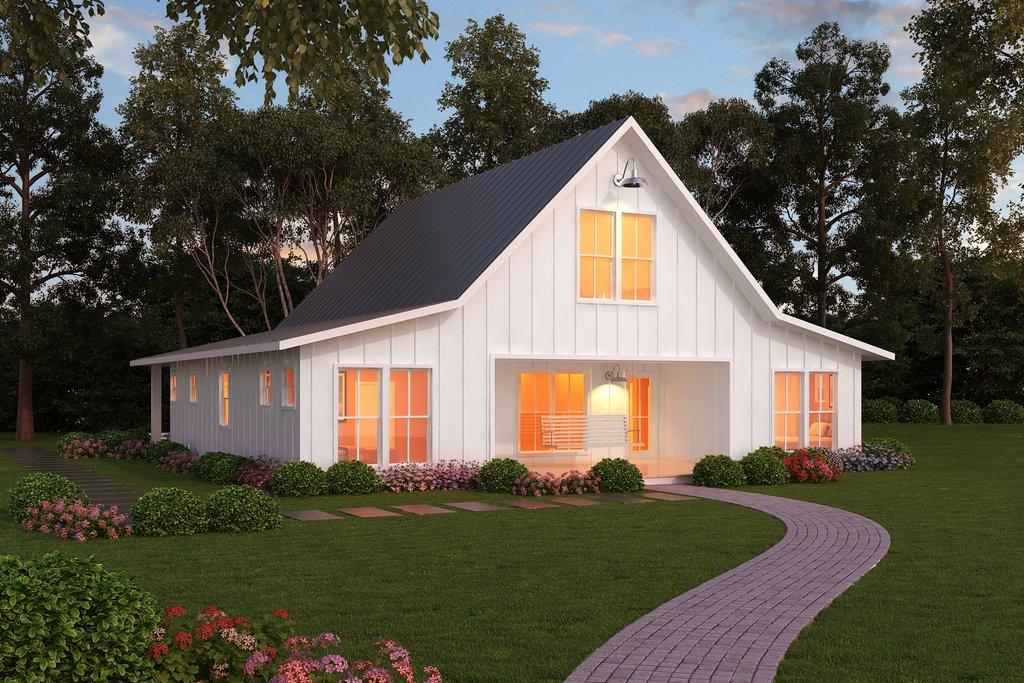 Farmhouse Style House Plan 3 Beds 2 5 Baths 2720 Sq Ft