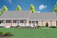 House Plan Design - Ranch Exterior - Front Elevation Plan #36-119