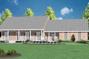 House Design - Ranch Exterior - Front Elevation Plan #36-119