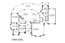Modern Floor Plan - Main Floor Plan Plan #920-18