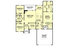 European Floor Plan - Main Floor Plan Plan #430-122