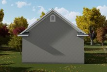 Dream House Plan - Traditional Exterior - Rear Elevation Plan #1060-78
