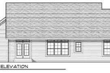 Traditional Exterior - Rear Elevation Plan #70-826