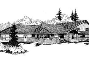 Traditional Exterior - Front Elevation Plan #60-170