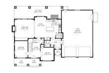 Craftsman Floor Plan - Main Floor Plan Plan #920-36