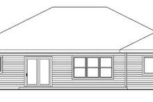 Dream House Plan - Craftsman Exterior - Rear Elevation Plan #124-745