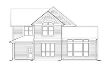 Home Plan - Craftsman Exterior - Rear Elevation Plan #48-118