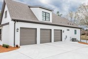 European Style House Plan - 3 Beds 2 Baths 2854 Sq/Ft Plan #430-192 Exterior - Other Elevation
