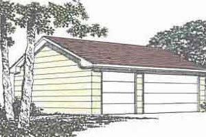 Traditional Exterior - Front Elevation Plan #116-140