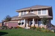 Craftsman Style House Plan - 3 Beds 3.5 Baths 2748 Sq/Ft Plan #51-422 Exterior - Other Elevation