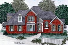 European Exterior - Other Elevation Plan #129-109