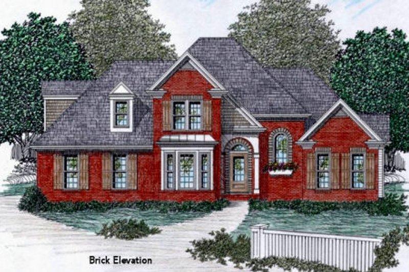 European Exterior - Other Elevation Plan #129-109 - Houseplans.com
