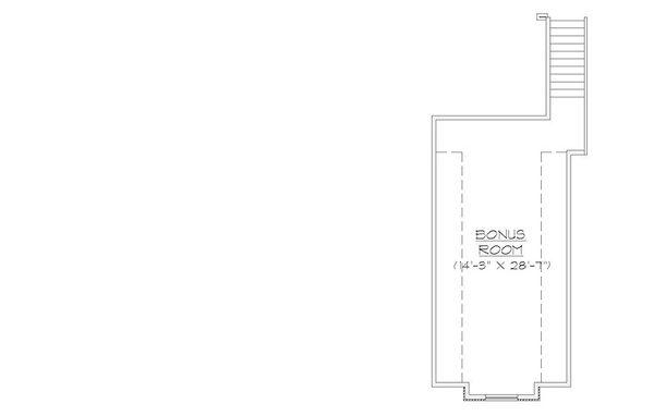 European Floor Plan - Other Floor Plan Plan #5-388
