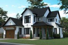 Dream House Plan - Farmhouse Exterior - Front Elevation Plan #23-2740