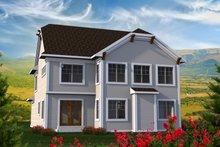 Craftsman Exterior - Rear Elevation Plan #70-1211