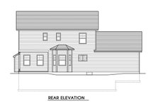 Home Plan - Traditional Exterior - Rear Elevation Plan #1010-222
