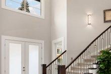 Contemporary Interior - Entry Plan #1066-14