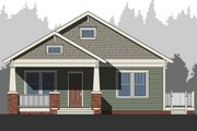 Craftsman Style House Plan - 3 Beds 2.5 Baths 1844 Sq/Ft Plan #461-53 Exterior - Front Elevation