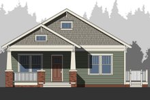 Craftsman Exterior - Front Elevation Plan #461-53