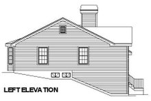 European Exterior - Other Elevation Plan #57-181