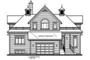Traditional Style House Plan - 4 Beds 2 Baths 2348 Sq/Ft Plan #23-415 Exterior - Rear Elevation