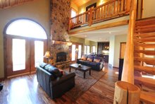 Cottage house country house design Living Room photo