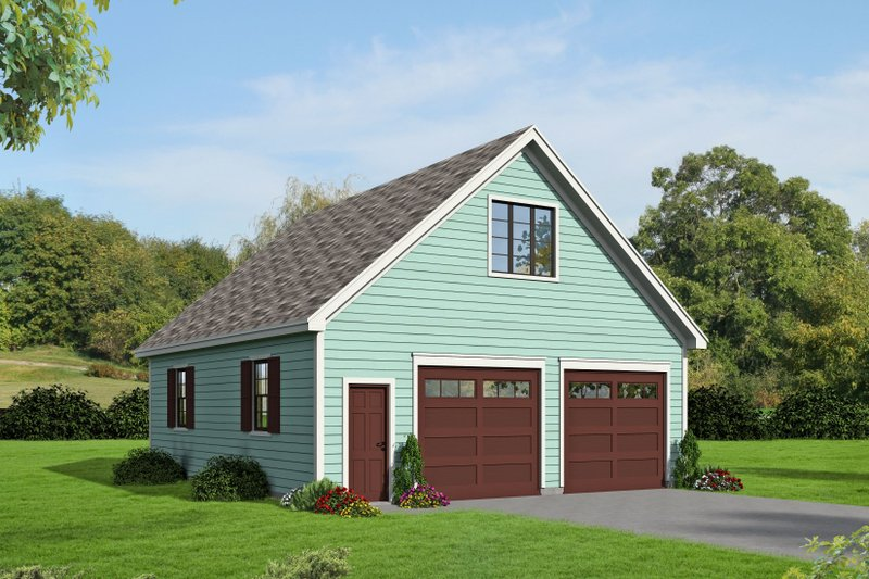 Home Plan - Country Exterior - Front Elevation Plan #932-140