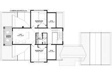Bungalow Floor Plan - Upper Floor Plan Plan #928-330