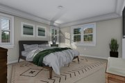 Traditional Style House Plan - 3 Beds 2.5 Baths 1660 Sq/Ft Plan #1060-58 Interior - Master Bedroom