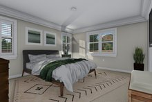 Dream House Plan - Traditional Interior - Master Bedroom Plan #1060-58